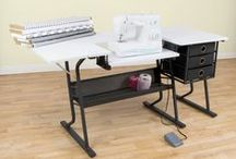 Sew Ready by Studio Designs Sewing Tables & Storage / Sewing tables and storage options for your sewing room.