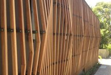Wood  Cladding / Wood cladding