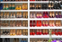 Shoe wardrobe / La stanza delle scarpe che tutte le shoes aholic vorrebbero avere.