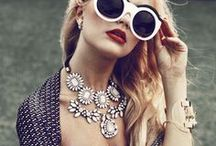 Accessorise. / Accessories from sunglasses to handbags to necklaces to bracelets