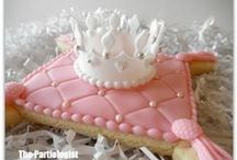 Too pretty to eat cookies & Cup cakes / by Kathy