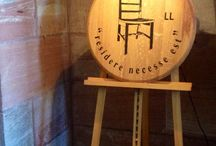 www.kingscreek.de Barrique chairs & more / Used barrique barrels find a new life as chairs and tables. www.kingscreek.de