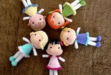Amigurami / Lalki i przytulanki na szydełko