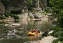 """Whitewater Rafting / Recognized as """"One of the Best Outfitters on Earth"""" by Nat Geo Adventure, NOC provides you with the whitewater rafting experience of a lifetime. With over 40 years of experience, NOC offers the best in whitewater rafting on 7 different Southeastern rivers."""