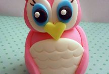 Fondant ideas and how to's! / Cute things in fondant.