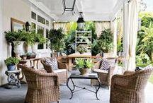 Jardins/extérieur (déco) / Pour un joli jardin ou une terrasse confortable, pleins d'idées !