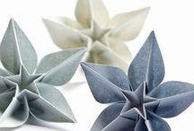 Origami / Trabalhos manuais em papel