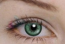 Contact lenses green / Coloured contact lenses green