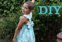 Vestidos de niña / Como hacer un vestido de niña, paso a paso con vídeo tutorial, puedes ver todo lo necesario para la realización del vestido en mi blog. http://patronesmujer.com