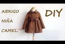 Como hacer abrigos y capas de niña / Como hacer un abrigo o capa para  niña, si quieres realizar un  bonito abrigo de moda sigue mi blog http://patronesmujer.com  paso a paso.