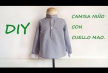 Como hacer ropa de niño. / Como hacer ropa de niño, puedes hacer desde un pantalón, pasando por una blusa, y realizar una trenca siguiendo mis tutoriales en http://patronesmujer.com