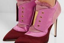 Shoes / Fashion shoe colour and textile design trends