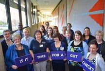 Is it time for a gut check? / Colorectal cancer affects people of all ages. In recent years, incidence has increased in those aged 40 and under. Maybe it's time for a gut check. Use these tools to help you spread the message and learn more.