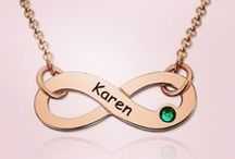 Infinity Jewellery / Stunning Infinity style name necklaces and jewellery