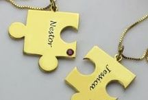 Friendship Jewellery / Show your best friends you care with their own special and unique piece of name jewellery :)