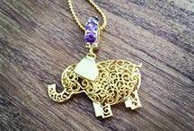 Animal jewellery / Personalised animal name jewellery