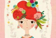 Illustrationen | Zeichen | Kreative Ideen / Illustrationen, Art, Zeichnen, Farben, Kunst, Color, Illustrations