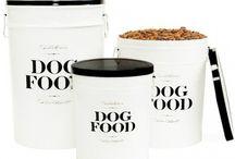 Dog food storage