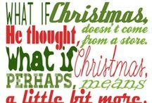 Advent / Lots of things I love about Christmas.... Searching for the Christmas joy you can't buy at the mall.