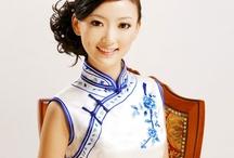 Chinese Fashion, Modern / Modern design of Chinese garments, mostly qipaos and cheongsams. / by Asymmetrix Design