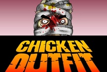 Chicken Outfit / Art, pages, and more from the horror / sci-fi comic Chicken Outfit. This indie comic draws inspiration from 80's horror films, underground comix and first-hand office culture, and is a phantasmagoria of horror, science fiction and dark humour.