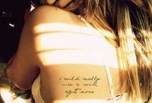 Tattoos / by Camilla Knudsen