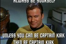 Star Trek / My number 1 favourite Sci Fi television programme.