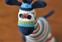 Tiny toys / Crochet toys
