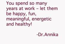 Tips by Dr. Annika