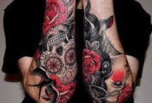 Tatoo / Tatouages stylés homme et femme