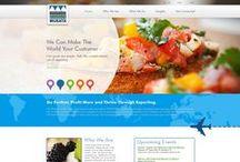 A•VIBE Portfolio / View sampling of our custom website designs.