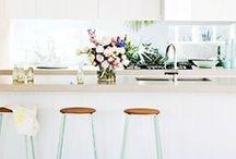 Home Decor / home decor, decor, interior design, home living, design, interior design inspiration, home inspiration, white space, indoor plants, bright spaces