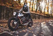 Moto Guzzi V7 racer / From BAAK Motocyclettes workshop, Italian cafe racer based of the new MotoGuzzi V7 racer.