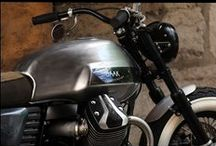 MotoGuzzi V7 Limited by BAAK Motocyclettes / An high class bobber based on the new MotoGuzzi V7 motorcycle.