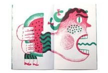books / illustrations and layouts