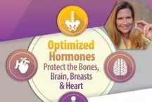 BioTE Info Graphics / Beautiful imagery designed to educate viewers about hormones and how being optimized can greatly increase your quality of life.