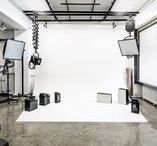 Photo Studio / Ideas for creating and maintaining a personal photography studio.
