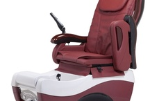 Pedicure Spa Chairs / Our spa pedicure chairs features are magnificently designed glass sink, state-of-the-art instrumentation, smooth Western styling, flexible feet and an extremely silent motor.