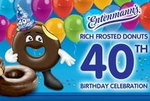 Happy 40th Birthday Rich Frosted Donut!