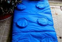 Sleeping Bags ...  Blankets ... Cots ... Hammocks ... Mats / Sleeping Bags, mattresses, foam, wool blankets, cots, hammocks , ground sheets and more ...