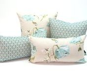 Pillows by Fabrinique / A collection of Fabrinique's designer fabric pillows.