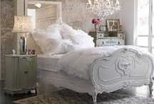 Bedrooms / pretty places of repose and relaxation / by Diana Frances