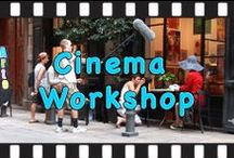 """Cinema Workshop / """"Lady in Red""""   Cinema workshop, Abbey Road Programs, summer 2013. Berlin, Prague, Aix in Provence, St. Laurent du Var, Nice, Barcelona, Rome, Paris.  Last summer Abbey Road students had an opportunity to work on a short film project directed and produced by two artists."""