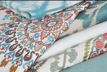 All Things Fabric / We are passionate about fabric.  Here's some of our favorite fabric finds!