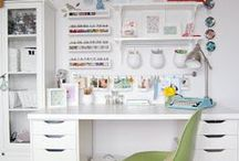 Creative Home Offices / Inspiration for a creative work space at home
