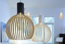 Wooden Lights / Bring a piece of nature to your home with our selection of wooden pendants and lamps.