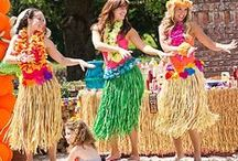 Hawaiian Luau on Gilligan's Island / Great theme for a party / by ruth mravinc
