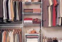 Closet Organizing / Purse and Boot Pillow Stuffers by Fabrinique are the best way to preserve the shape of your purses and boots while they sit in the closet!
