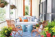 Outdoor Living Spaces + Gardens / Explore outdoor living ideas   Outdoor Living Spaces   Outdoor Living Rooms   Outdoor Gardens