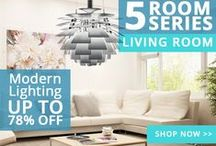 5 Room Series / Follow our 5 bedroom series to save up to 60% on bedroom, living room, kitchen, outdoor and bathroom lighting.